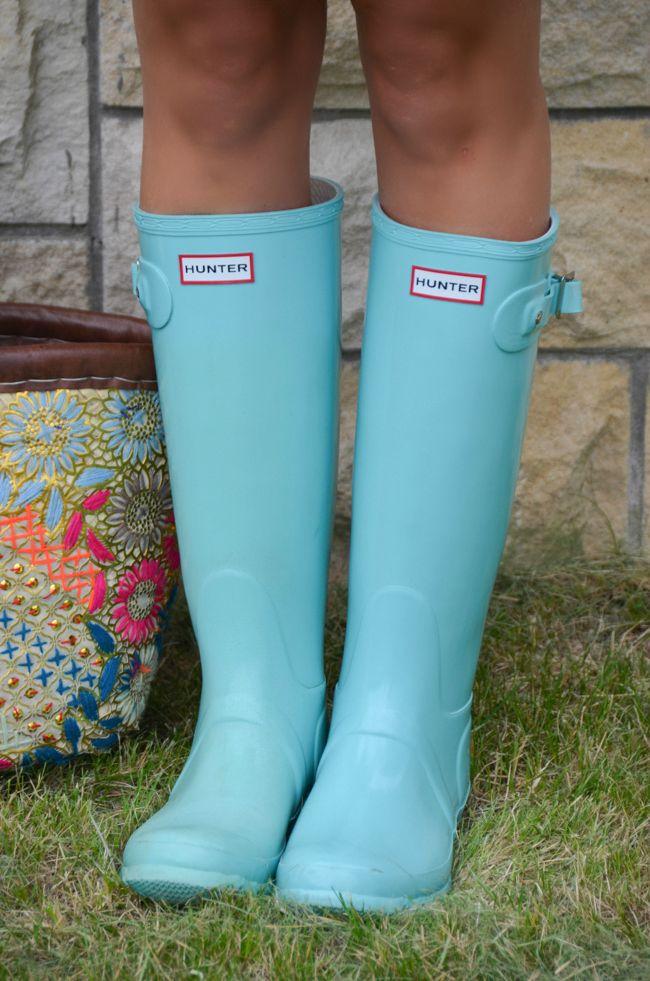 McKenna Bleu: Hunter boots