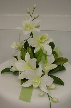 Singapore orchid from the Advanced Sugar Flower Class   Flickr - Photo Sharing! ONLY PICTURE