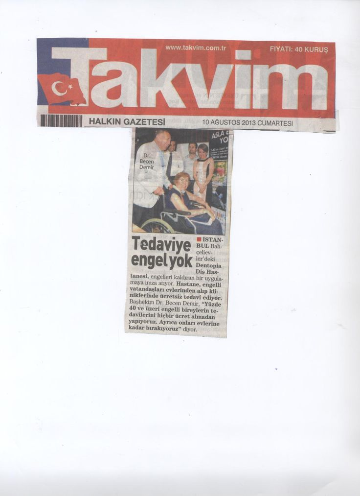 10 Ağustos 2013 - Takvim Gazetesi