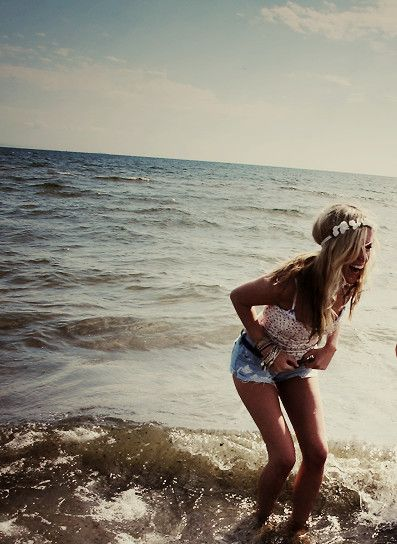 .Fashion, Beach Outfit, Summer Outfit, Beach Style, The Ocean, Summer Beach, At The Beach, Hair, Summer Clothing