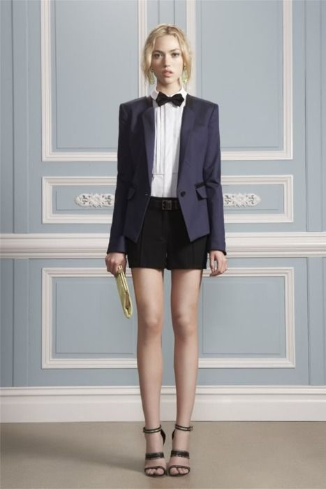 Jason Wu. Source: amouralalumiere@tumblr.Androgynous Style, Fashion, Bows Ties, Wu Resorts, Bow Ties, Jason Wu, Bowties, Resorts 2012, Jasonwu