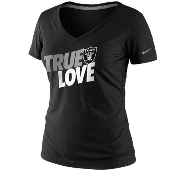 Women's true love raiders shirt