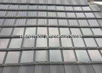 China MC4 Connector Thin Film Solar Panel Tiles , Solar Roofing Tiles Quick Installation supplier