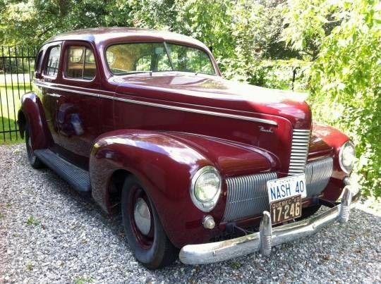 77 best 1940 nash and other cars images on pinterest vintage cars antique cars and cars. Black Bedroom Furniture Sets. Home Design Ideas