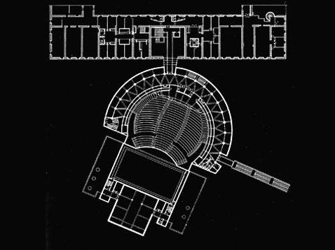 """Nel 1987 inaugura il Teatro e Casa della Cultura """"André Malraux"""" a Chambéry, Francia"""