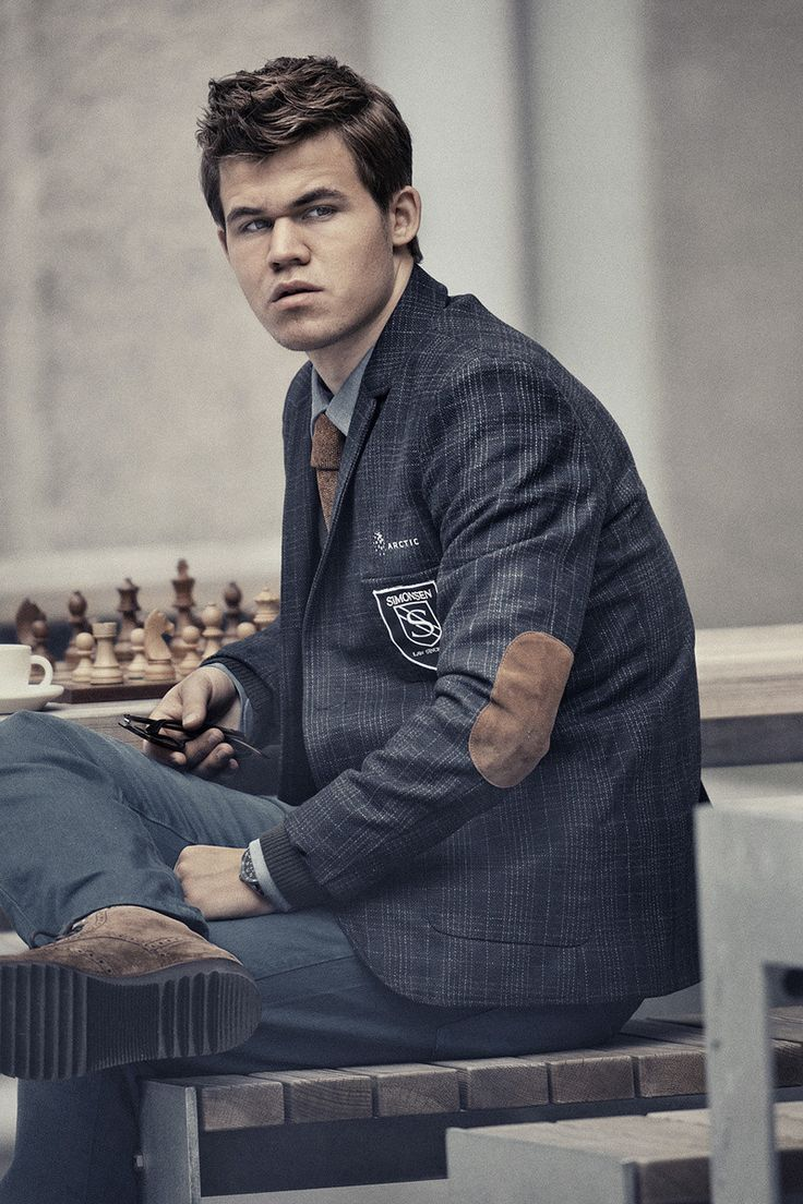 Norwegian Chess Prodigy Magnus Carlsen