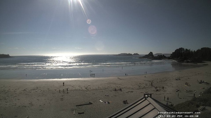 Fog gone - sun's out in Tofino