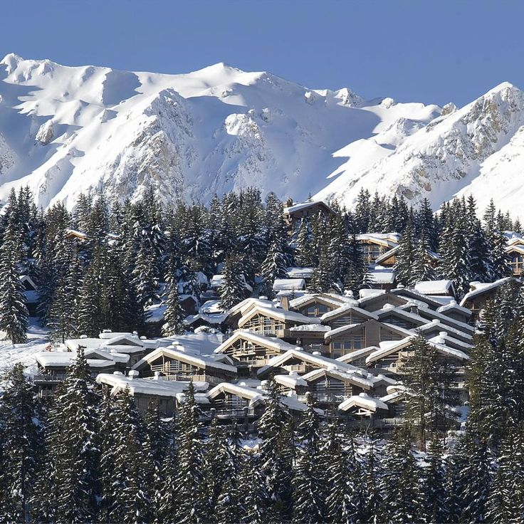 #French #Ski #Resorts - Courchevel 1850 so beautiful.. http://www.thefrenchpropertyplace.com
