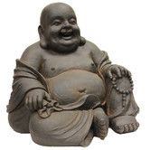 Found it at Wayfair - Happy Sitting Buddha Statue