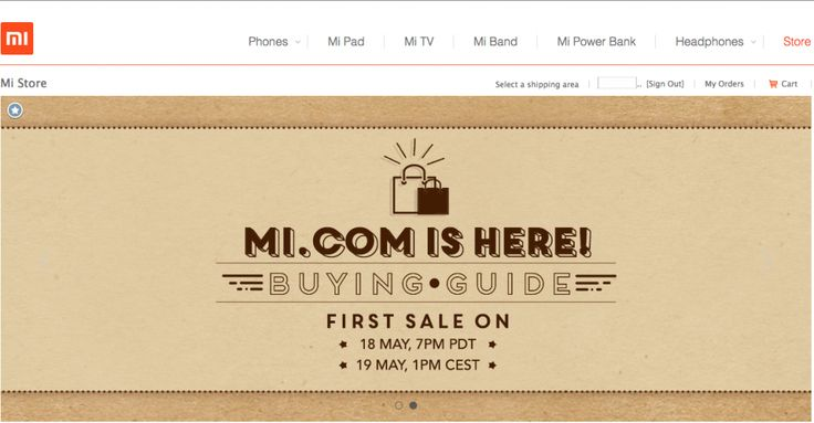 Xiaomi Mi Store US Sale Sold out in Under 10 Minutes