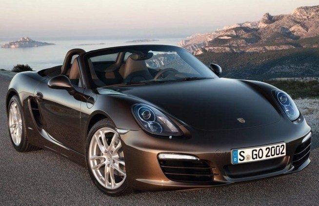 Porsche Roadster prototype. the new model will appear in 2016 roku.Będzie cheapest and smallest model Porsche. #car #moto