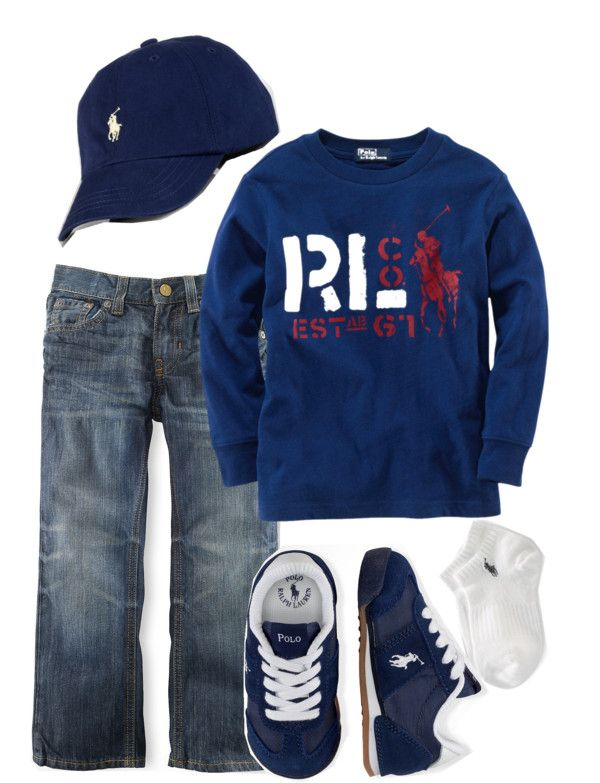 """Ralph Lauren - Toddler #2"" by stay-at-home-mom on Polyvore...for my lil man!!"