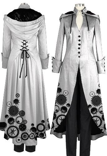 Victorian Steampunk Coat Brand ChicStar, desing  by Amber Middaugh