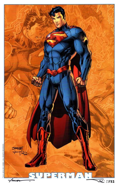 Superman by Jim Lee [© All Rights Reserved]