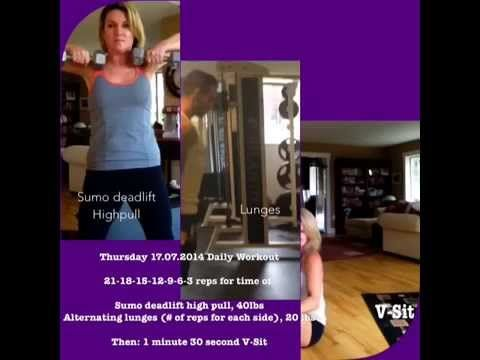 Thursday 17.07.2014 Daily Workout