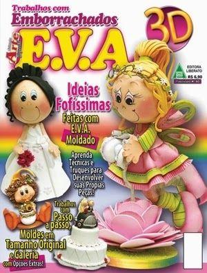 Revistas de Foamy gratis: como hacer fofuchas hadas
