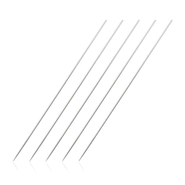 50 pcs 3RL size Tattoo Needles Stainless Steel Tattoo Accessory for Eyebrow Disposable Needles Tattoo #Affiliate
