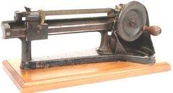 Pencil Sharpener; Jupiter, Pencil Pointer, Cast Iron, 13 inch.