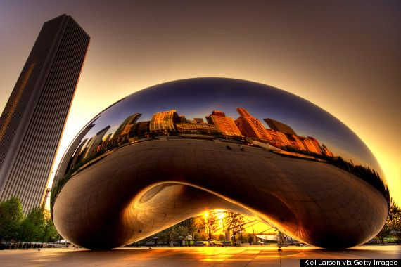 20 Things Youll Only See In Chicago - Cloud Gate 'The Bean'