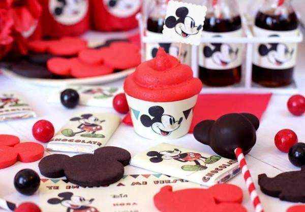 Kit Vintage de Mickey Mouse.