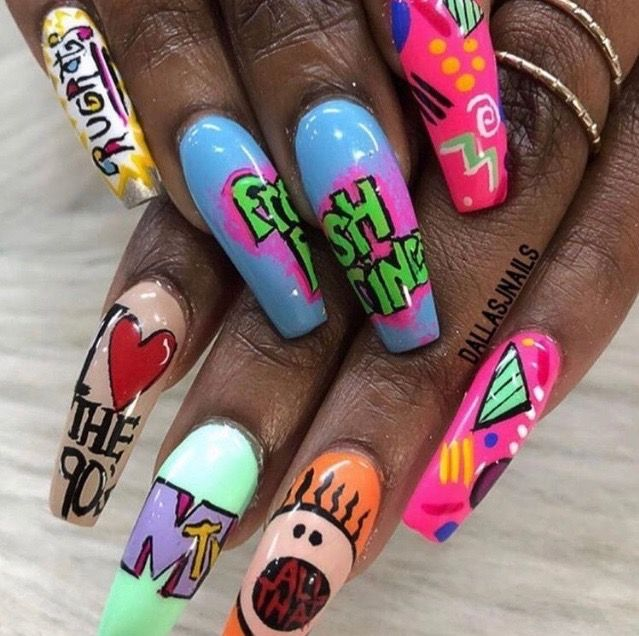 Pin On Competition Nails