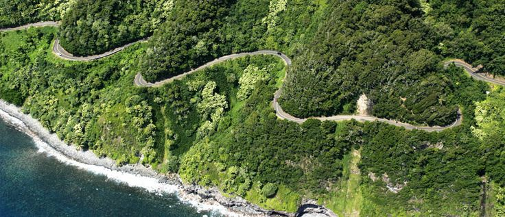 Scenic Road to Hana in Maui. Next time I visit Maui, I will HAVE to do this. I was too scared to do it the first time.
