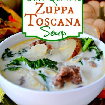 Olive Garden Zuppa Toscana Soup Recipe - So yummy and easy to make!