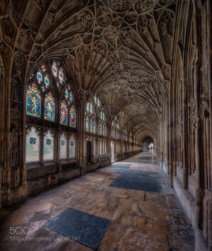 Cloister Of Gloucester Cathedral By Roliketto