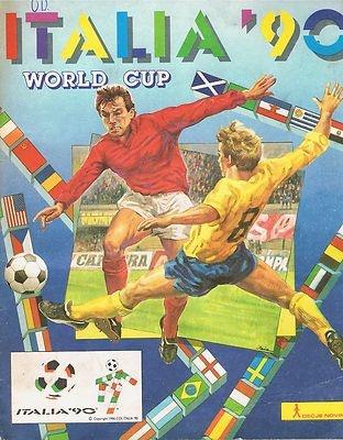 PANINI - WORLD CUP ITALIA '90 - COMPLETED ALBUM - SLOVENIAN EDIT - AUTOGRAPHED