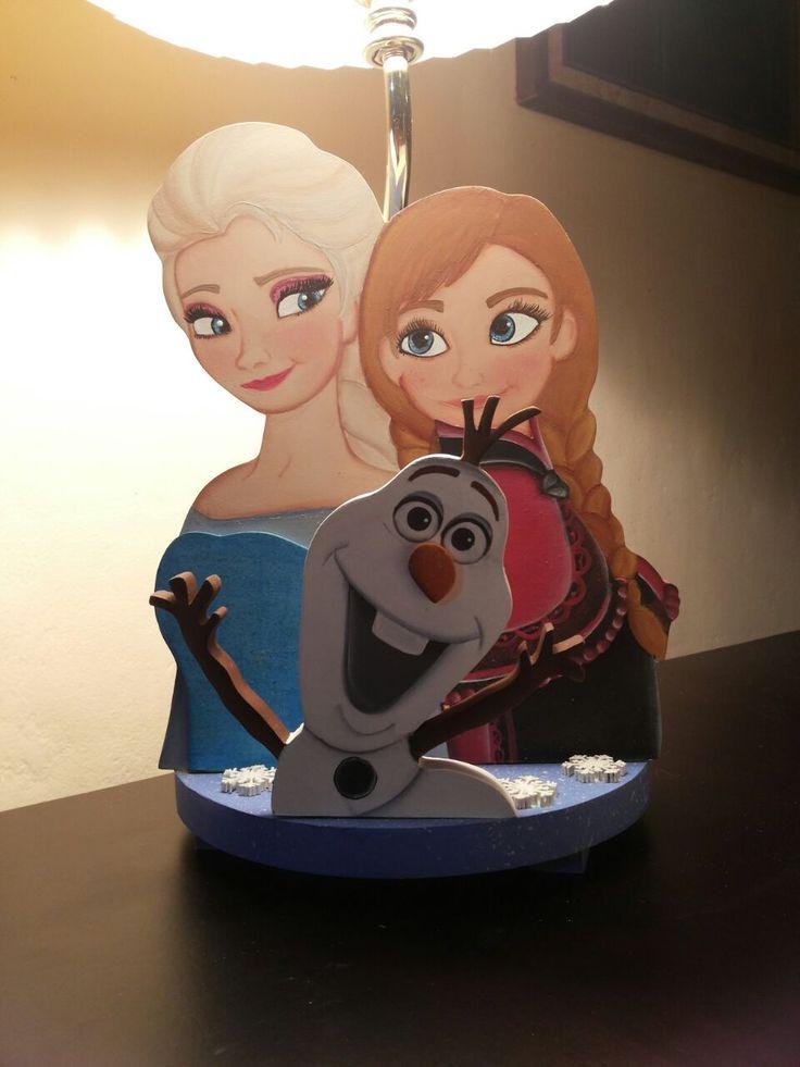 Lampara de Frozen para niña