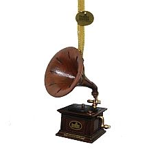 "Downton Abbey ® 4.0"" Gramophone Ornament - shopPBS.org"