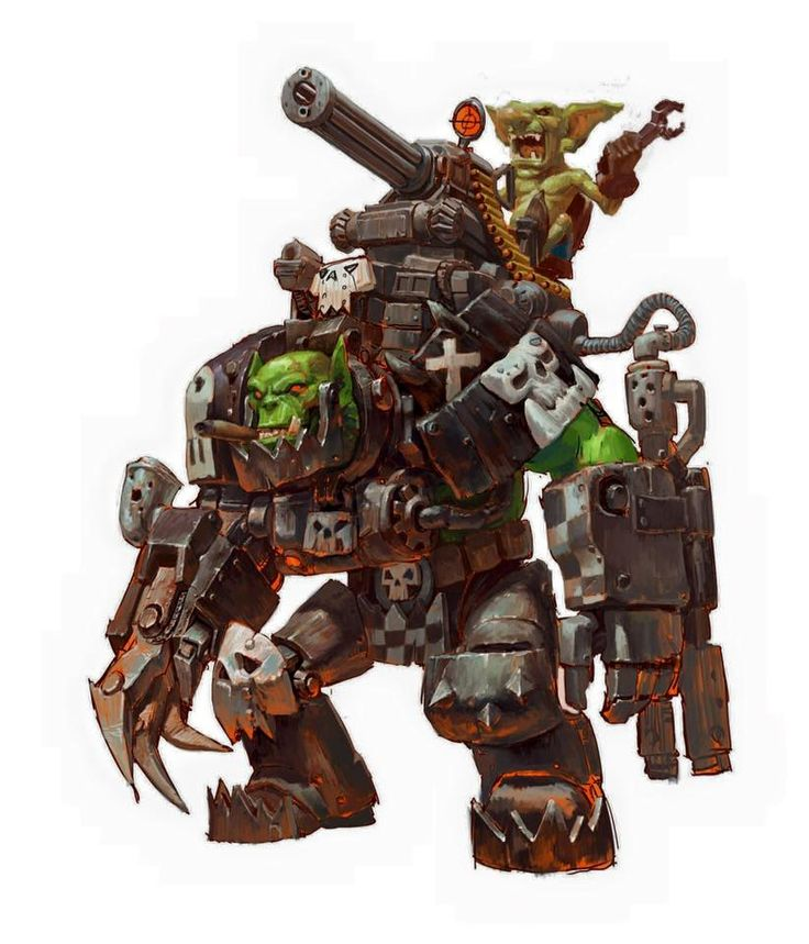 63 Best Images About Orks On Pinterest