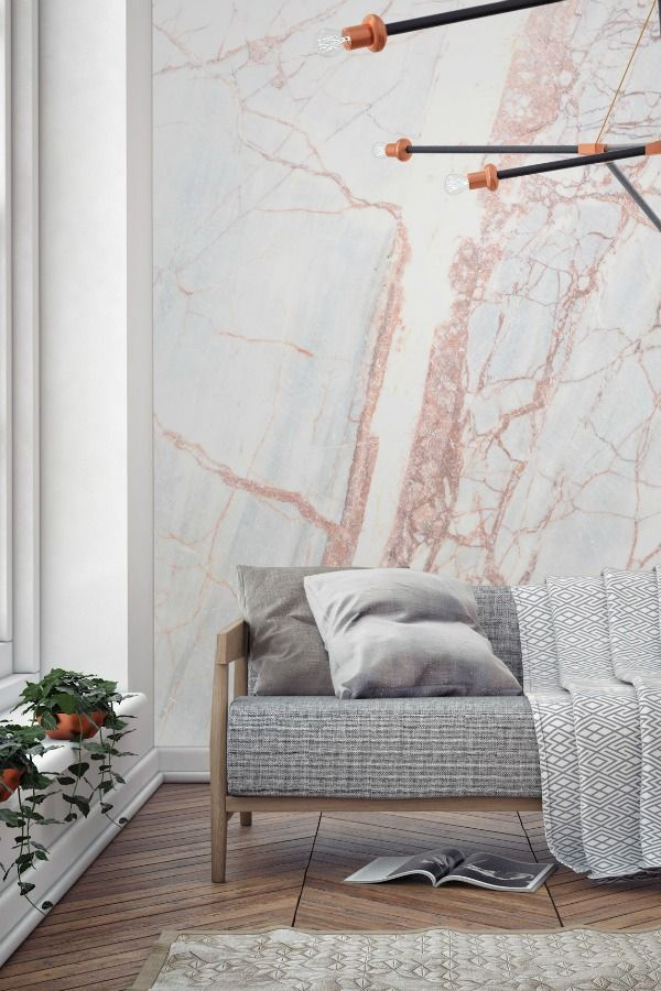 Marble Effect Wallpaper for a Touch of Unashamed Luxury. 178 best Interiors  Walls images on Pinterest   Wallpaper