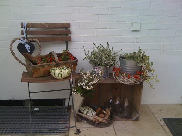 Herbstdeko innen und au en seite 4 deko kreatives for Mein kleiner garten dekoration und kreatives