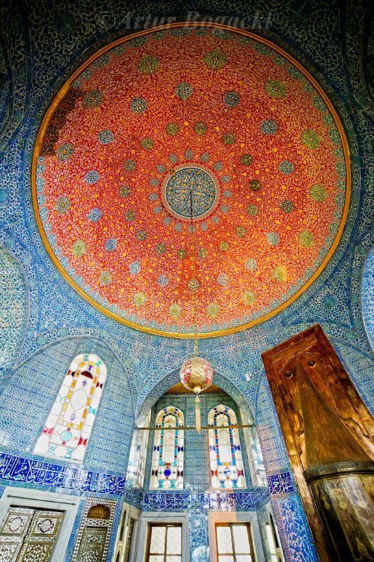 Topkapi Palace in Istanbul, Turkey.