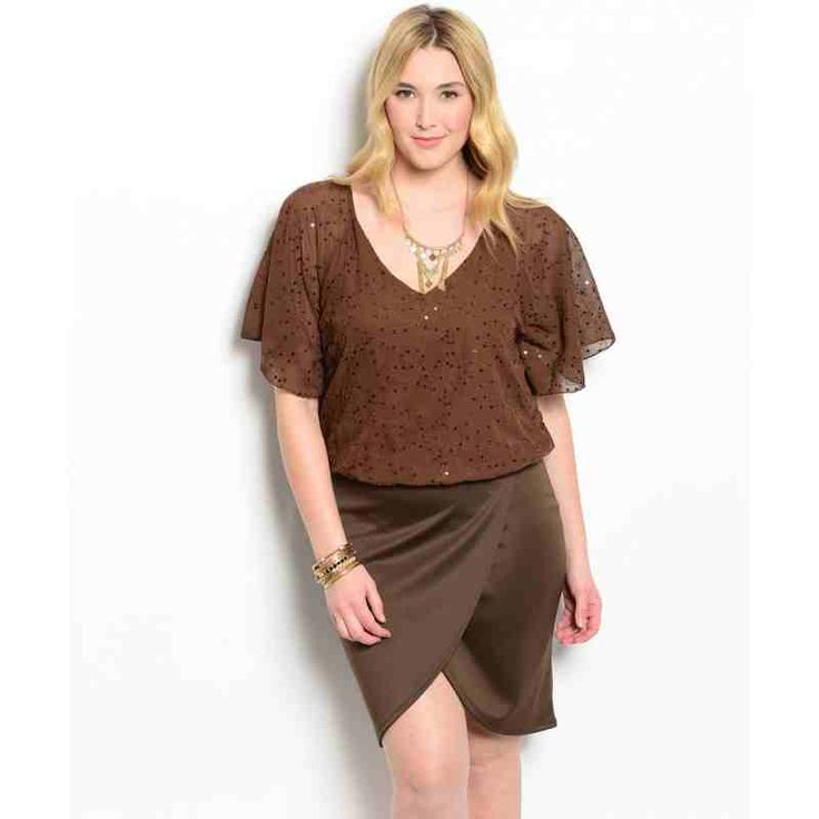 PRE-ORDER - BROWN PLUS SIZE DRESS $52.00 http://www.curvyclothing.com.au/index.php?route=product/product&path=95_101&product_id=8699&limit=100