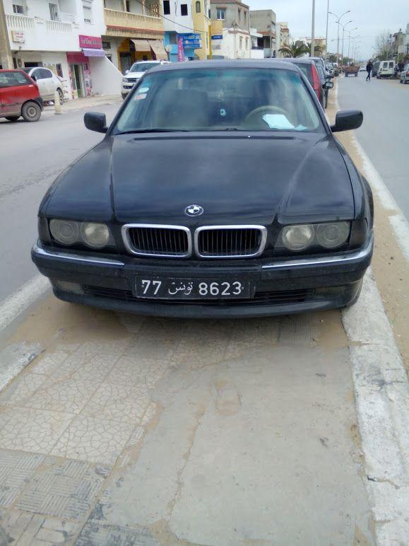 BMW 730. Tunisia