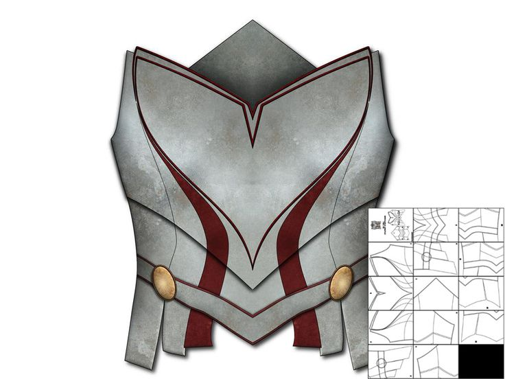 Template for Lady Sif Breastplate