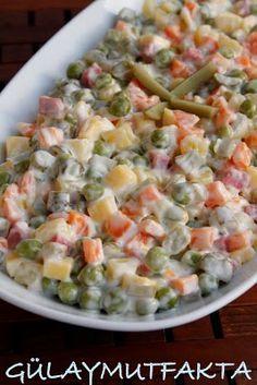 Rus Salatası  HUZUR SOKAĞI (Yaşamaya Değer Hobiler)