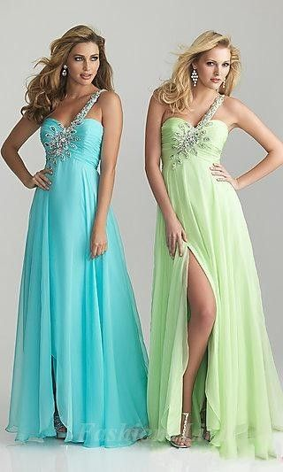 Prom dress Looks great in: Like any color