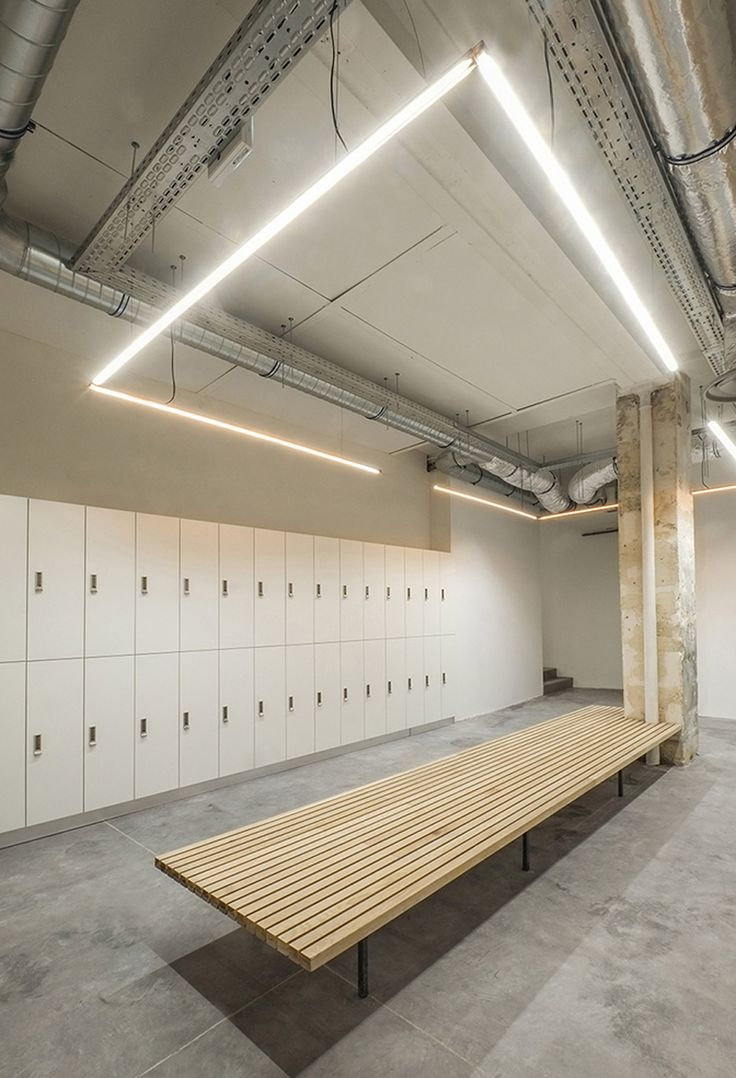 New Gym Locker Room Design
