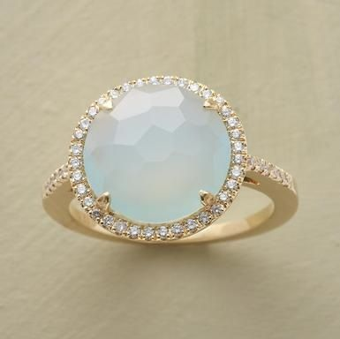 ring: Opals Rings, Cocktails Rings, Diamonds Rings, So Pretty, Gold Rings, Wedding Rings, Dreams Rings, Rights Hands Rings, Chalcedony Rings