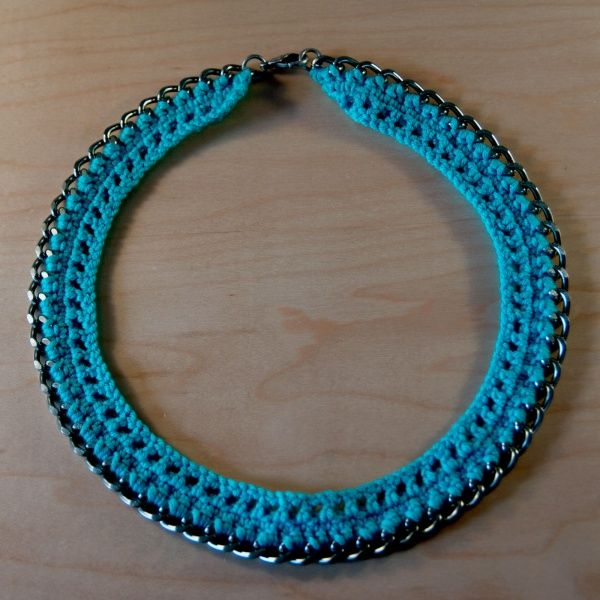 25+ best ideas about Crochet Necklace Tutorial on ...