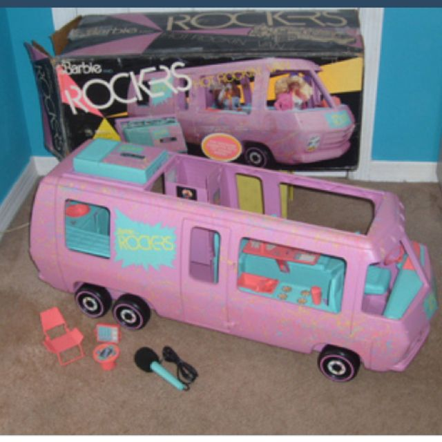 Barbie Rockers Tour Bus