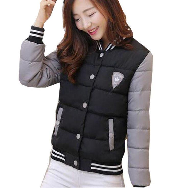 >> Click to Buy << New Winter Jacket Women Korea Fashion Uniform Warm Jackets Winter Coat Female Cotton Ladies Parkas Lady Winter Jacket #Affiliate