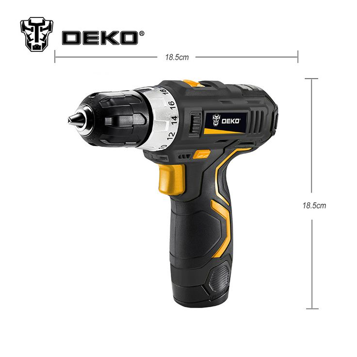 New Design Household DIY Lithium-Ion Battery Cordless Drill/Driver Power Drill Tool Electric Drill Woodwork