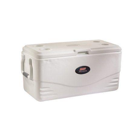 Coleman 1 qt Xtreme 5 Marine Cooler, White, Plastic