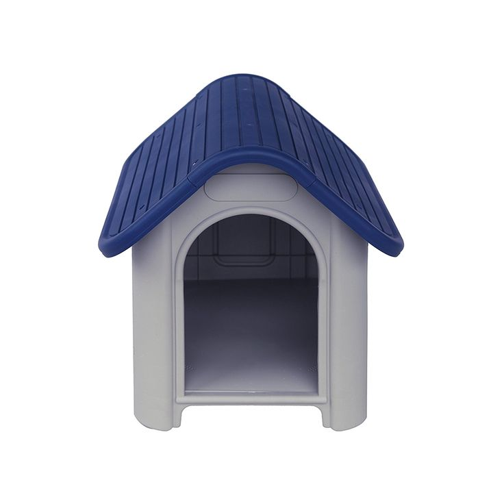 ALEKO® DH23X29X26PL Plastic Dog Kennel Pet House 23 X 29 X 26 Inches, White and Blue >>> You can get more details here : Dog kennels
