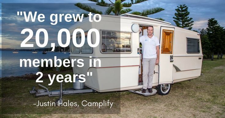 Think of Camplify as the Airbnb of campervans. And founder Justin Hale as a genius, growing to 20,000 members in 2-years with nearly an 8-figure evaluation. Noice!
