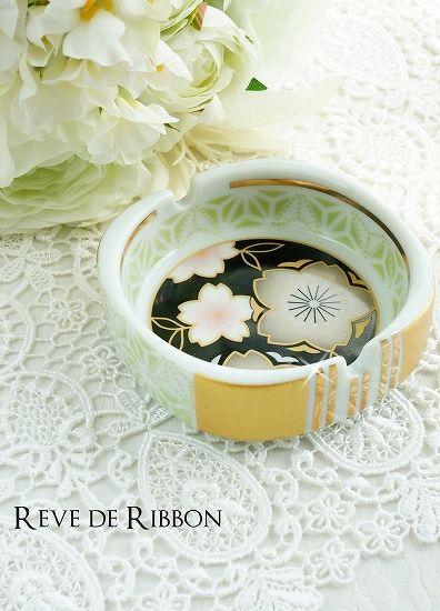 先生のブログで紹介されました!  プレゼントの灰皿☆ の画像|大阪 ポーセラーツ(教室) Reve de Ribbon レーブドリボン
